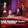 2枚組CD Dave Brubeck Qurtet with Paul Desmond / At the Free Trade Hall 1958