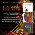 "2枚組CD  THAD JONES & MEL LEWIS サド・ジョーンズ & メル・ルイス / PRESENTING THAD JONES,MEL LEWIS & ""THE JAZZ ORCHESTRA"" + LIVE AT THE VILLAGE VANGUARD + THE BIG BAND SOUND OF THAD JONES & MEL LEWIS featuring MISS RUTH BROWN"