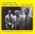 200枚限定再プレス CD Henri Chaix Trio アンリ・シェ / Just Friends
