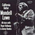 CD  MUNDELL  LOWE  マンデル・ロウ /  CALIFORNIA GUITAR カリフォルニア・ギター