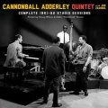 "2枚組CD Cannonball Adderley Quintet with Joe Zawinul / COMPLETE 1961-62 STUDIO SESSIONS featuring Nancy Wilson & Eddie ""Cleanhead"" Vinson"