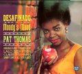 初めてボサ・ノヴァを英語で歌ったジャズ・シンガー、パットの名唱集 CD PAT THOMAS パット・トーマス / DESAFINADO + MOODY'S MOOD (2 LP ON 1 CD)