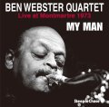 【STEEPLE CHASE創設45周年記念】CD  BEN WEBSTER   ベン・ウェブスター  /   My Man   マイ・マン