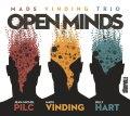 スリリングかつハートフルに個性が拮抗する密度濃い劇的トライアングル世界CD   MADS VINDING TRIO マッズ・ヴィンディング / OPEN MINDS