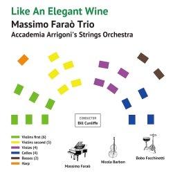 画像1: 180g 完全限定重量盤LP  MASSIMO FARAO TRIO  マッシモ・ファラオ・トリオ / Like An Elegant Wine エレガントなワインのように