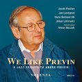 北欧紳士チームの小粋で旨口な愛らしいプレヴィン名曲集CD     JACOB FISCHER, JAN LUNDGREN, HANS BACKENROTH, JOHAN LOFCRANTZ / WE LIKE PREVIN ; A JAZZ TRIBUTE TO ANDRE PREVIN