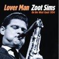 紙ジャケットCD  ZOOT SIMS  ズート・シムズ   /  LOVER MAN ZOOT SIMS ON THE WEST COAST 1954