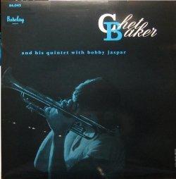 画像1: CD   CHET BAKER チェット・ベイカー / CHET BAKER AND HIS QUINTET WITH BOBBY JASPER
