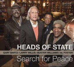 画像1: 【スモーク・セッション!】 CD HEADS OF STATE ヘッズ・オブ・ステイト (ゲイリー・バーツ / ラリー・ウィリス / バスター・ウィリアムス / アル・フォスター) / サーチ・フォー・ピース