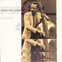画像1: 【TIMELESS JAZZ MASTER COLLECTION】 完全限定生産CD  DAVID WILLIAMS デヴィット・ウィリアムス / UP FRONT アップ・フロント