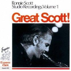 画像1: 【ESQUIRE COLLECTION】 完全限定生産CD   RONNIE SCOTT  ロニー・スコット  /  GREAT SCOTT ! RONNIE SCOTT STUDIO RECORDING グレート・スコット!ロニー・スコット・スタジオ・レコーディング