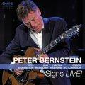 迷いなくストレートアヘッド街道をひた進む痛快活劇ライヴ、大豊作!! 2枚組CD PETER BERNSTEIN ピーター・バーンスタイン / Signs LIVE!