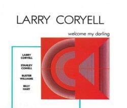 画像1: ギターファンには見逃せないレア盤 CD Larry Coryell ラリー・コリエル / Welcome My Darling