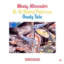 画像1:  CD  MONTY ALEXANDER モンティ・アレキサンダー  /  THREESOME  スリーサム