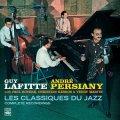 【FRESH SOUND】CD GUY LAFITTE,ANDRE PERSIANY ガイ・ラフィット、アンドレ・ペルジアニ / LES CLASSIQUES DU JAZZ  - COMPLETE RECORDINGS (2 LP ON 1 CD)