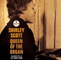 CD  SHIRLEY SCOTT  /  QUEEEN OF THE ORGAN   recorded live at  THE FRONT ROOM