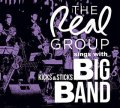 CD   THE REAL GROUP  ザ・リアル・グループ  /  THE REAL GROUP SINGS WITH KICKS &  STICKS BIG BAND