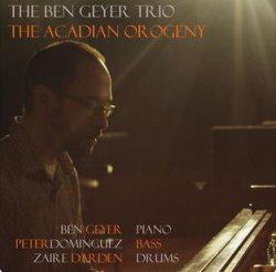 画像1: 【自主制作ピアノトリオ作品】オフィシャル CDR  Ben Geyer Trio / The Acadian Orogeny