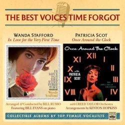 画像1: 【2 IN 1CD THE BEST VOICES TIME FORGOT】CD WANDA STAFFORD ワンダ・スタッフォード / IN LOVE FOR THE VERY FIRST TIME  + PATRICIA SCOT パトリシア・スコット / ONCE AROUND THE CLOCK