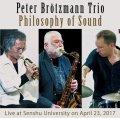 CD  PETER BROTZMANN  TRIO  ペーター・ブロッツマン・トリオ   /   PHILOSOPHY OF SOUND   フィロソフィー・オブ・サウンド