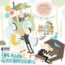 画像1: 【レスター・ヤング〜スコット・ハミルトンの系譜を継承するテナーサックス奏者】CD Enric Peidro & Richard Busiakiewicz /  Make Someone Happy