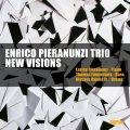 ダーク・ミステリアスな詩的ロマンティシズムとストレートアヘッドな硬派ダイナミズムがガッチリ掛け合わされたさすが練達の会心鮮麗名演! CD ENRICO PIERANUNZI TRIO エンリコ・ピエラヌンツィ・トリオ / NEW VISIONS ニュー・ヴィジョンズ