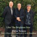 波乗り調子でスムース・スモーキーにまろやかな美メロを繰り出し続ける3テナーが絶好調の超快適世界! CD THREE TENORS ; Harry Allen & Ken Peplowski & Scott Hamilton スリー・テナーズ / LIKE THE BRIGHTEST STAR ライク・ザ・ブライテスト・スター