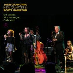 画像1: 〔JAZZ TO JAZZ〕CD Joan Chamorro, New Quartet & Scott Hamilton. Feat: Elia Bastida, Alba Armengou, Carla Motis /Live