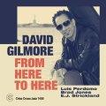 ストレート・スインギーな現代バップらしさと怪しく不敵でダーク・サスペンスフルなM-BASEファンク色が渾然一体化した独創的グルーヴ世界! CD DAVID GILMORE デヴィッド・ギルモア / FROM HERE TO HERE