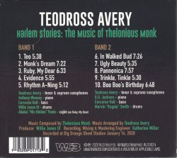 Teodross Avery / Harlem Stories : The Music of Thelonious Monk