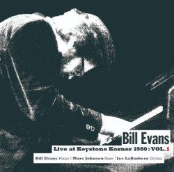 画像1: CD BILL EVANS ビル・エバンス / ライヴ・アット・キーストーン・コーナー 1980 : VOL.1