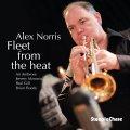 スモーキー&スムースな余裕と節度を保った脱力調子の粋渋トランペット吹奏が瀟洒に冴える2管ハード・バップの謹製品 CD ALEX NORRIS アレックス・ノリス / FLEET FROM THE HEAT