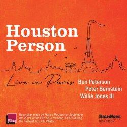 画像1: [HIGH NOTE] CD  HOUSTON   PERSON  ヒューストン・パーソン /  Houston Person Live In Paris