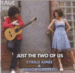 画像1: W紙ジャケット仕様CD   CYRILLE AIMEE シリル・エイミ & DIEGO FIGUEIREDO ディエゴ・フィゲイレド / JUST THE TWO OF US