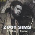 【インナー・シティ・レコード JAZZY GROOVE CLASSICS第一期!】 CD ZOOT SIMS ズート・シムズ /  BROTHER IN SWING ブラザー・イン・スウィング