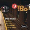 明朗で渋旨な娯楽志向の2管ハード・バップ快演 CD SPIKE WILNER / 3 TO GO