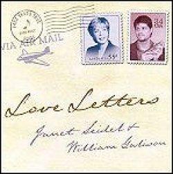 画像1: CD    JANET SEIDEL  ジャネット・サイデル ,WILLIAM GALISON  ウィリアム・ギャリソン  / LOVE LETTERS