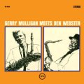 45回転LP2枚組180g重量盤LP GERRY MULLIGAN MEETS BEN WEBSTER (ジェリー・マリガン、ベン・ウェブスター) / GERRY MULLIGAN MEETS BEN WEBSTER