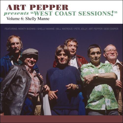 cd art pepper アート ペッパー west coast sessions vol 6 shelly manne